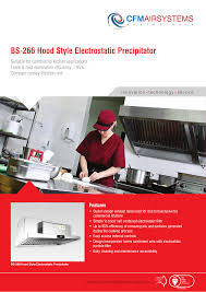Electrostatic Precipitator Design Bs 266 Hood Style Electrostatic Precipitator Manualzz Com