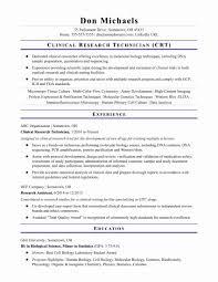 Laboratory Technician Resume Sample Resume for Laboratory Technician Awesome Surgical Technician Resume 43