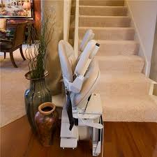 bruno s indoor elite stair lift is made in the usa bruno elite indoorstraight stair lift folded compact design