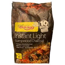 How To Light Lumpwood Charcoal Bar Be Quick Instant Light Lumpwood Charcoal 10 Pack Bags
