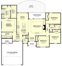 ranch house floor plans with 2 master suites unique 5 bedroom style bedrooms free one story house plans with two master suites