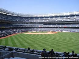 Yankee Stadium Seating Chart Football Games Yankee Stadium View From Bleacher 203 Vivid Seats