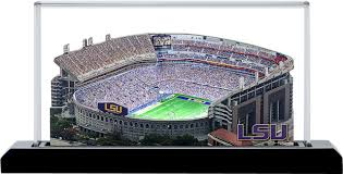 Lsu Stadium Seating Chart 3d Lsu Tigers Tiger Stadium 3d Replica