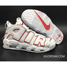 Nike Air More Uptempo White Varsity Red 921948 102 Outlet