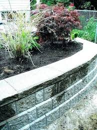 building a block retaining wall cinder without mortar concrete cost to build c