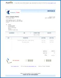 Travel Invoices Magnificent Travel Bill Template Toreto Air Ticket Invoice Format In Excel