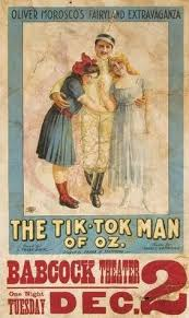 the sting of the woggle bug s failure did not prevent baum from attempting another oz al in 1913 the tik tok man of oz adapted primarily from ozma of