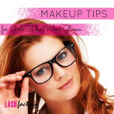 makeup tips for las who wear gles