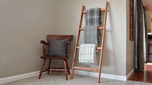 Build A Blanket How To Make A Blanket Ladder An Easy Diy Project Perfect For