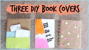 Diy Book Cover Design Three Diy Book Covers For Back To School Diywithpxb