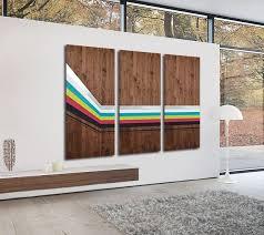 custom made mod spectra wood wall art large wall art metal art