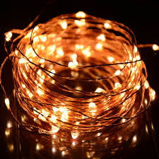 string lighting indoor. HAHOME Waterproof Led String 100 LEDs Indoor And Outdoor Starry Lights With Power Supply For Christmas Wedding Party Decoration,Warm White Lighting S