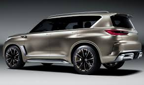2018 infiniti suv models.  suv this is the 2018 infiniti qx80 monograph concept which debuted at 2017  new york auto show with infiniti suv models i