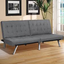 best choice products modern futon sofa bed fold up  down couch reclin