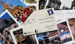 Risultati immagini per Immagini belle: lettere, cartoline per me