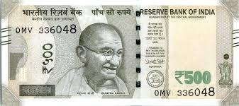 Indian <b>500</b>-rupee note - Wikipedia