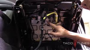 Toyota 4Runner How to remove driver side front seat - YouTube