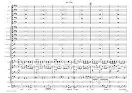 My Way Published Score Llm2189 Alle Noten De My Way