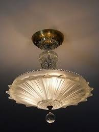 vintage ceiling lighting. Art Deco Light Fixture - Gorgeous The Overhead Of My Bedroom Dreams! Vintage Ceiling Lighting