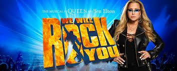 Art rock contemporary pop/rock hard rock glam rock album rock arena rock british metal heavy metal. Scenefoto S En Trailer Voor We Will Rock You Met Anastacia Musicalweb Nl