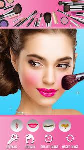 insta makeup face beauty photo editor app poster