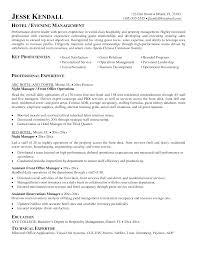 Sample Resume For Hotel Hotel Sales Resumes Oklmindsproutco Best