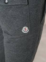 Moncler Quilted Track Pants in Gray for Men   Lyst & Gallery Adamdwight.com