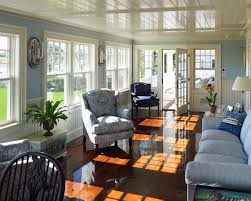 sunroom lighting ideas. sunroom ideas beach with blue couch beadboard ceiling lighting