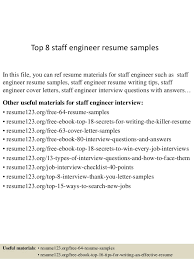 Good Engineering Resume Sample Best Of Top 24 Staff Engineer Resume Samples