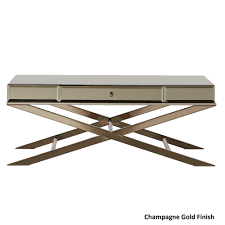 Camille X-Base Beveled Mirrored 1-drawer Coffee Table by iNSPIRE Q Bold -  Free Shipping Today - Overstock.com - 19141614