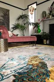 Wendy Morrison Chinese Garden Of Virtue Hand Knotted Rug by Rockett St  George in Rugs
