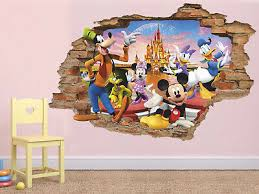disney 3d wall decal mickey mouse wall