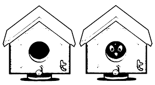 Small Picture Bird House Coloring Page Coloring Pages For All Ages Coloring Home