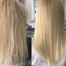 Keratine Boost Black To Blond Hairstyles