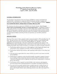 sealed bids letter template proposals transportationsal template business report template 11 ideas