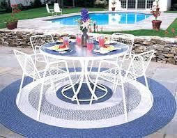 outdoor rug round indoor outdoor round rugs collection in round outdoor rugs round patio rugs outdoor