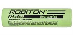 Купить <b>ROBITON PAN3400 18650</b> 3400мАч без защиты ...