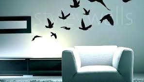 flying birds wall decor splendid design awesome inspiration of best bird set ceramic a art stickers