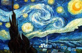 starry night painting technique van gogh starry night painting technique van gogh starry night