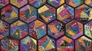 She Makes These Remarkable Foolproof Crazy Quilts That Are Vibrant ... & She Makes These Remarkable Foolproof Crazy Quilts That Are Vibrant And Full  Of Color! | Adamdwight.com