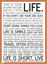 This Is Your Life Quote Simple Quote Pictures This Is Your Life Do Wat You Love And Do It Often