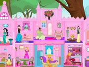 princess castle doll house play the girl game online