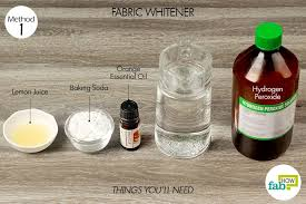 hydrogen peroxide bleaching agent 2 tablespoons