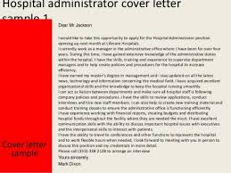 Health Administration Sample Resume 18 Healthcare 7 Cover Letter For