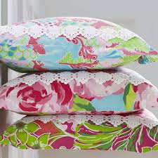 lilly pulitzer sister fls duvet covers and shams garnet hill standard size checking in blue pattern