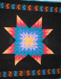 Tribal Star Native American Star Quilt, Lakota Star, Lonestar ... & Tribal Star Native American Star Quilt, Lakota Star, Lonestar Adamdwight.com