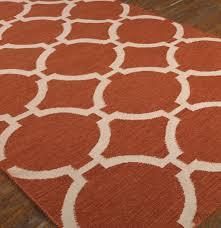 burnt orange area rug  outstanding for orange shag area rugs