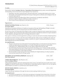 Gallery Of Export Agent Resume Example Exporter Sample Resumes