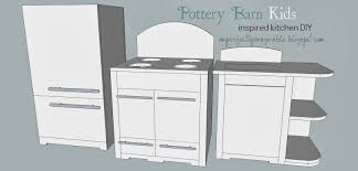 Pottery Barn Retro Kitchen Imperfectly Imaginable Pottery Barn Kids Retro Kitchen Diy Plans