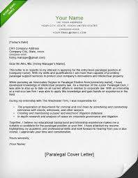 Paralegal Cover Letter Sample | Resume Genius